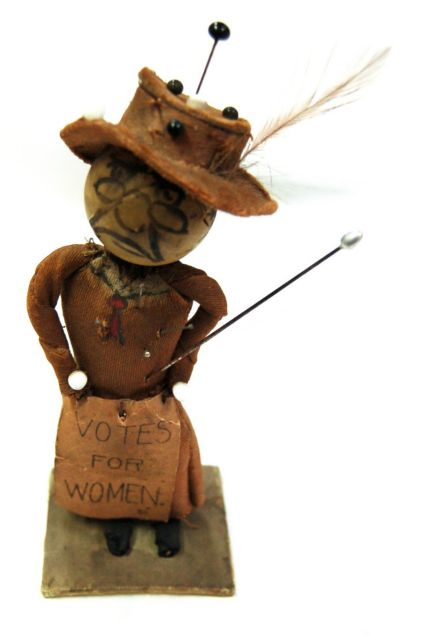 Anti-Suffrage Doll